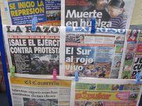Perou - Cusco - La Protestación dans les medias