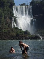 Iguazu - Au pied des chutes